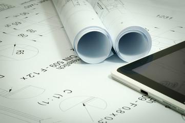 Maschinenbau - technische Zeichnungen und 3D Konstruktion