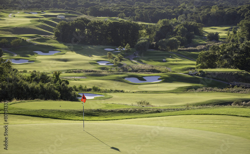 Foto op Canvas Zuid-Amerika land Golf Course
