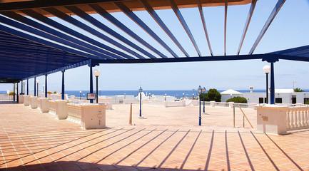 Arquitectura típica canaria en Lanzarote, Islas Canarias