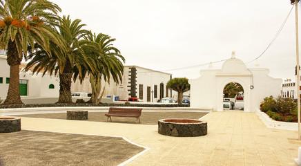 Jardines en Teguise, Lanzarote