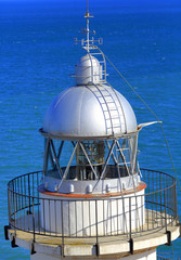 Lighthouse, Mediterranean sea, Peniscola, Valencian Community