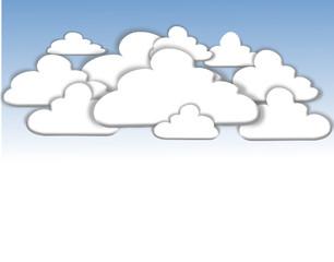 Ciel nuageux.