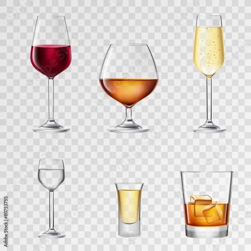 Drink Transparent Alcohol Drinks Transparent
