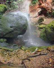 Falls, park reserve Galatzo. Majorca, Spain