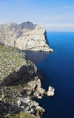 On cape Formentor, Majorca, Spain