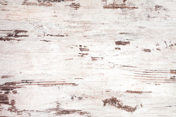 White and brown old wooden background.