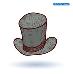 tell  Hat, Hand Drawn, vector illustration.