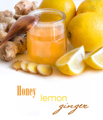 Honey, lemon and ginger