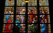 Stained Glass of The Sacrament of Confession or Penitance - 80755572