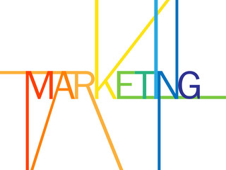 "MARKETING"" (advertising publicity brand product)"