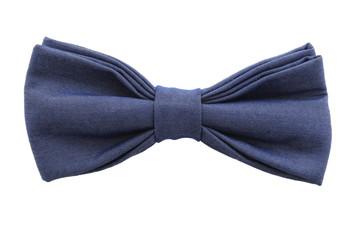 bow tie closeup on white background