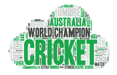 Word Cloud - Cricket - Australia, Champion
