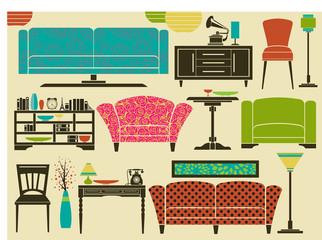 Retro Furniture and Home Accessories