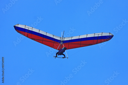 Leinwanddruck Bild Hang Glider