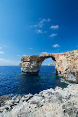 Azure Window formation on Gozo