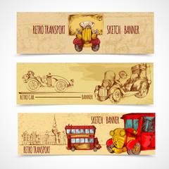 Vintage Transport Banners