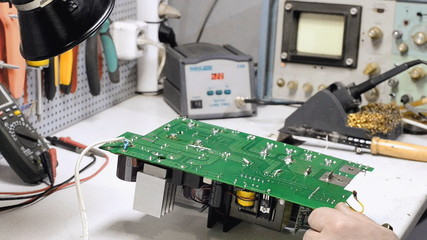 Soldering of electronic devices