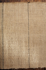 old grain sacking linen Completely hand made  handwoven and home