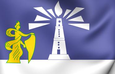 Flag of Alexandria, Egypt.