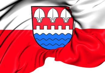 Flag of Andisleben, Germany.