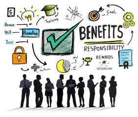 Benefits Gain Profit Earning Income Business Concept