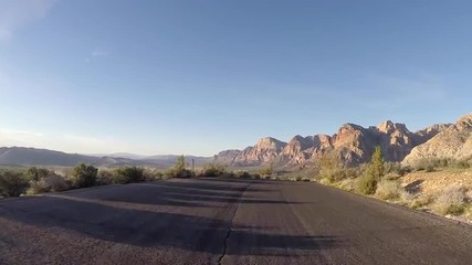 Redrock Canyon Desert Driving