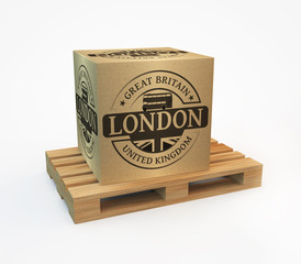 Stamp with London