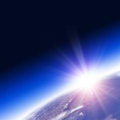地球の日の出