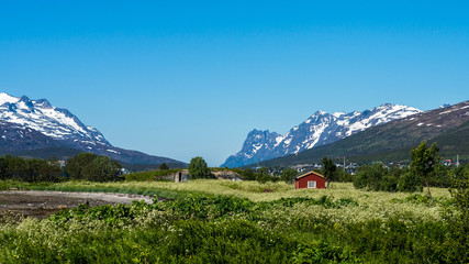 Route 862 in Troms, Northern Norway