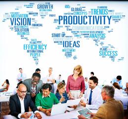 Productivity Vision Efficiency Growth Success Solution Concept
