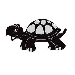 turtle, Vector, illustration, icon, black