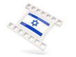 Movie icon with flag of israel