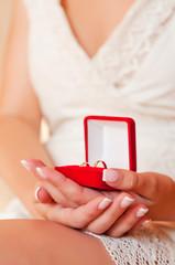 Beautiful nails the bride