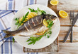 Fried sea bream - 80770195