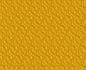 golden vintage pattern, ornate metal carving background.