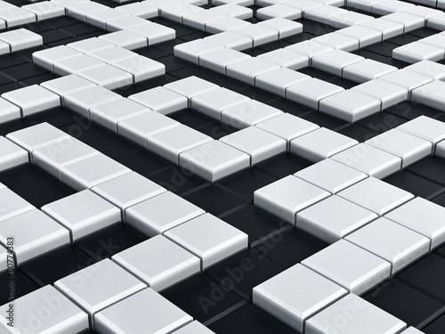 Crossword puzzle background