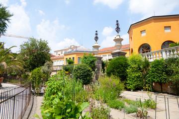 Botanical garden in Padova, Italy