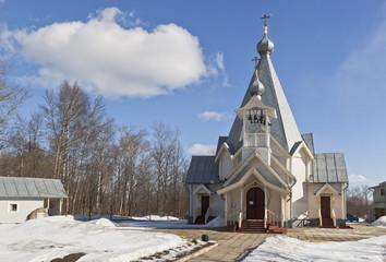 Храм Вознесения Господня в Соколе Вологодской области, Россия
