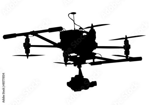 Camera on drone