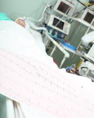 ECG bed patient monitoring concept