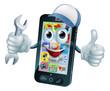 Mobile repair mascot - 80781701