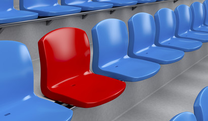 Unique seat