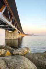 Most drogowo kolejowy, łączacy Danię ze Szwecją, Malme