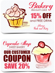 Bakery discount cards