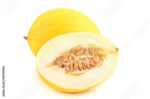 Leinwanddruck Bild Honigmelone