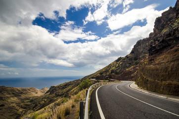 Kanaren: Straße auf La Gomera :)
