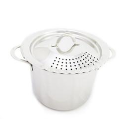 Pot on White