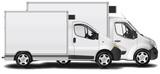 Fourgon camion frigorifique