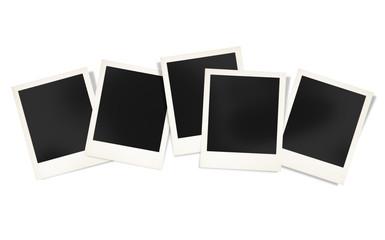 Polaroid Paper Instant Camera Photography Media Concept © Rawpixel.com