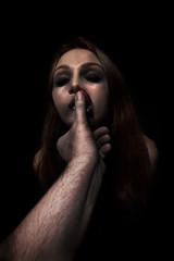 Woman victim